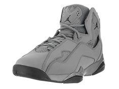 brand new 066d7 7123a Nike Jordan Men s Jordan True Flight Cool Grey Black Basketball Shoe 13 Men  Us