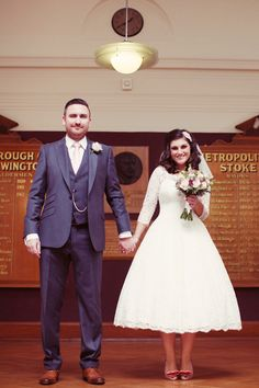 And Touch of Vintage Elegance For A 1950s Retro Inspired Wedding | Love My Dress® UK Wedding Blog