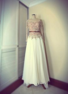 Wedding Gown by Billy Tjong. Indonesian famous designer.