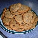 Chocolate chip cookies made with friendship bread starter - because I will quickly tire of bread...