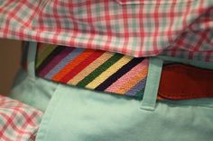 Needlepoint Belts and Color, Hurray!