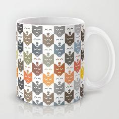 #dogs #pattern #husky #animal #pet #graphic #dog #fashion #style #mug