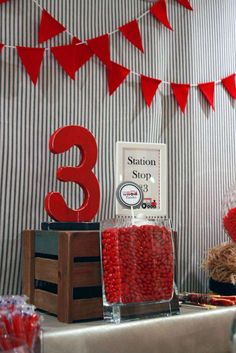Vintage Train Birthday Party Ideas | Photo 1 of 49 | Catch My Party