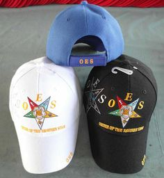 Order of Eastern Star Embroidered Baseball by SomethingSpecial2013, $10.00