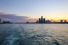 Views like no other on the Detroit River | Infinity and Ovation Yacht Charters