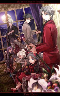Fate/Zero families