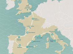 2017 Map of Western Corners EEWMLR Hostel Plus