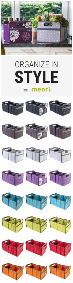 Storage made easy with durable, foldable boxes by meori. Receive 15% off your purchase & free shipping on orders $50+. Use code: WELCOME15 (Exp. 12/31/16)