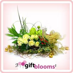 Charming Garden and special roses arrangements deliver in Malaysia online from giftblooms.com