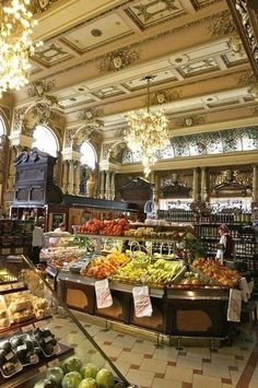 A grocery store in Moscow