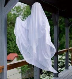 Battery Ghost Halloween Decoration