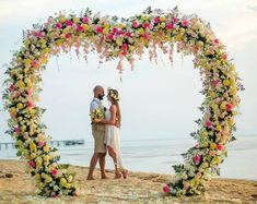 Wedding arch Heart+gift pendant heart for flowers / Heart shaped wedding arch/ Wedding backdrop deco Metal Wedding Arch, Wedding Ceremony Arch, Wedding Venues, Wedding Arches, Wedding Ideas, Metal Arch, Beach Ceremony, Wedding Beach, Hawaii Wedding