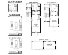 The Hartford Elevation A 1st Floor Single Family Home Design by