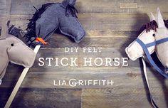 Video: How To Make A Felt Hobby Horse