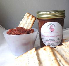 Passover Charoset | Flamingo Musings  This version includes canning instructions -or- if you don't want to preserve it, instructions for traditional preparation.