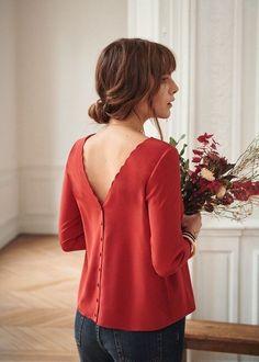 Sezane's January Capsule Collection (The Neo-Trad) Trendy Dresses, Elegant Dresses, Nice Dresses, Casual Dresses, Casual Outfits, Outing Outfit, Dress Outfits, Fashion Outfits, Fashion Clothes