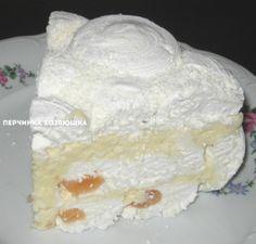 Зефирный торт с белым шоколадом - Перчинка хозяюшка