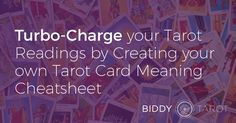Whether you are learning the Tarot card meanings for the first time or you are already a seasoned Tarot expert, using Tarot cheatsheets and Tarot keyword charts can turbo-charge your Tarot card reading ability. Using your own Tarot card meanings cheatsheet is much faster than having to stop with each card to consult the booklet that came with your deck. So, in this post, I want to share with you some tips and techniques on how you can create your very own Tarot card meanings cheatsheet. Why…