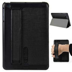 Speaker Amplifier Design Folio Stand Leather Case For iPad Mini - Black Ipad Mini Cases, Ipad Case, Ipad Mini Accessories, Iphone Parts, Speaker Amplifier, Leather Case, Purple, Ebay, Black