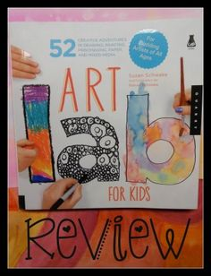 Art Lab for Kids- My review and a giveaway on @Curriculum Choice. This is a fantastic resource you can use over and over with kids of all ages. Big thumbs up!
