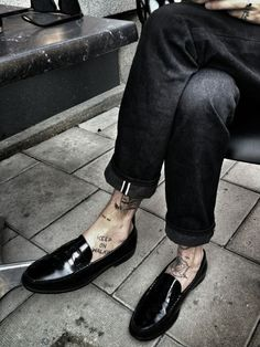Image result for how men can wear patent loafers pinterest