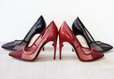 Need them both! Nour Jensen A/W '15. www.nourjensen.com #heels #fashion #style #chic #fall