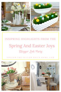 Happy Monday everyone! I hope everyone had a blessed Easter holiday. Tonight we wrapped up the Spring and Easter Joys. Easter 2018, Easter Holidays, Spring Fever, Happy Monday, Thursday, Favorite Things, Blessed, Decorating Ideas, Joy