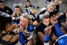 cheerleading 1800s | ... cheerleading and dance competition cheerleaders do hair and make up