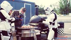 No Wookies were harmed in the taking of this picture.  #Starwars #EVOgrill #thesearentthedroidsyourelookingfor