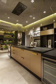Mostra Campinas Decor 2015. Cozinha. Arquiteta Caroline Sautchuk.