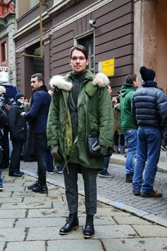 Milan Men's Fashion Week FW13 // Adam Kelly