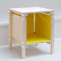 components for this furniture by Rotterdam designers Minale-Maeda can be downloaded, 3D-printed and assembled locally.