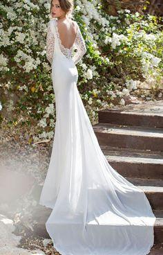 Свадебные платья Julie Vino с открытой спиной   смотреть фото цены купить  Свадебное Платье С Открытой 59ff71c90ce