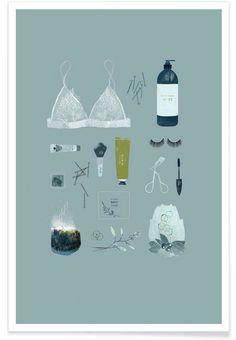 Le Matin als Premium Poster von Babeth Lafon | JUNIQE