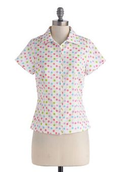 Yes I Candy Top, #ModCloth