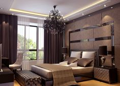 Bedroom, Residence Du Commerce Elegant Bedroom Interior Modern Bathroom Bedroom  Designer With Exclusive Ideas Luxury Bedroom With Adorable Design Cute ...