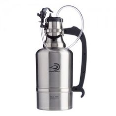 Juggernaut DrinkTanks® 128 oz Beer Growler is cast from high quality 18/8 stainless steel, and has double wall vacuum insulation. The BPA free poly cap is secured by a sturdy dual-bail cap system that is leakproof and keeps contents cold for 24+ hours and hot for 12+ hours.