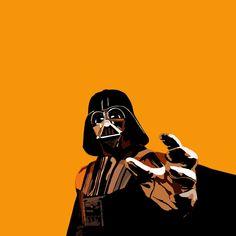 Darth Wader see orange