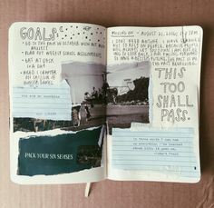 celebrating because I found some inspiration to journal today☁️