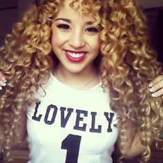 Jadah Doll - She has the prettiest hair in the whole world!!! Love her! Another one of my favorite youtubers
