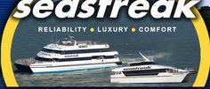 Seastreak Ferry New Jersey/New York and New Bedford/Martha's Vineyard - Ferry from Manhattan to Rockaway Beach