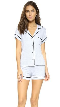 Emerson Road Short Sleeve PJ Set