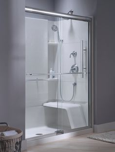 Aging In Place Or Handicap Shower