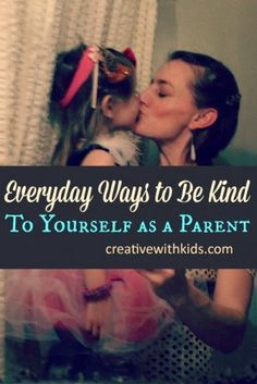 Being a good parent means being kind to yourself, too. Love these ideas for self-care for busy moms!