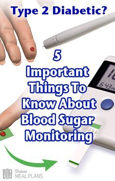 5 Important things to know about blood sugar monitoring for type 2 diabetes