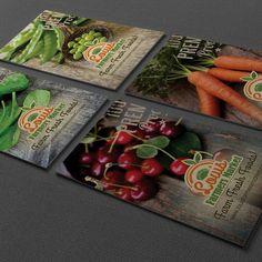 #fcd #flamingcherry #design #businesscards #businesscarddesign #lfm #louisfarmersmarket #carelia #careliakuhn #branddesign #brand Business Card Design, Business Cards, Fresh Market, Farmers Market, Design Projects, Branding Design, Cherry, Instagram Posts, Food