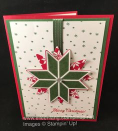The Christmas Quilt stamp set and coordinating Quilt Builder Framelit Dies that were used in today's card can be purchased together in a bun...