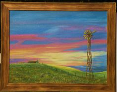 Morning an Original Oil painting by Marilu by adventureoriginals, $149.00