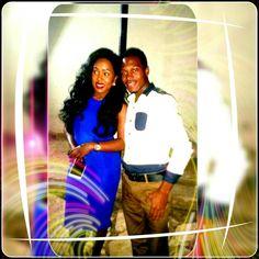 Me and Fyona Kirabo