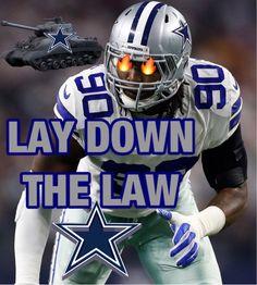 Dallas Cowboys Decor, Dallas Cowboys Pictures, Dallas Cowboys Football, Football Helmets, Demarcus Lawrence, Lay Down The Law, My Boys, Nfl, Sports Teams